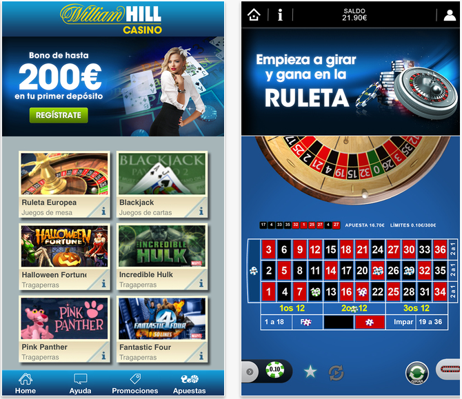app william hill casino