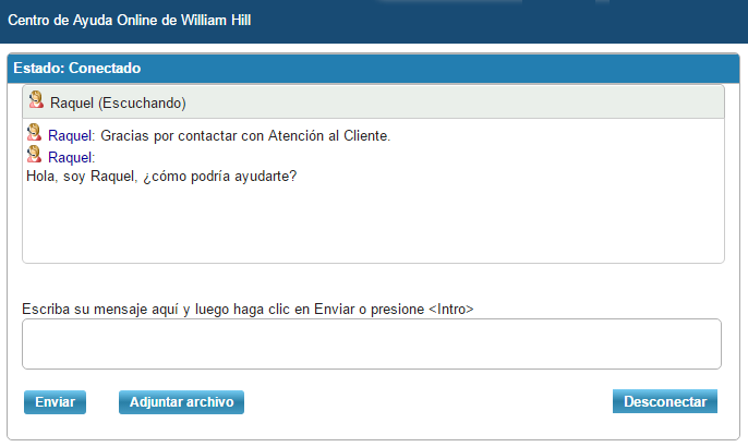 william hill chat